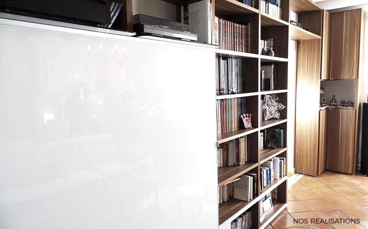 biblioth ques meubles aubin. Black Bedroom Furniture Sets. Home Design Ideas