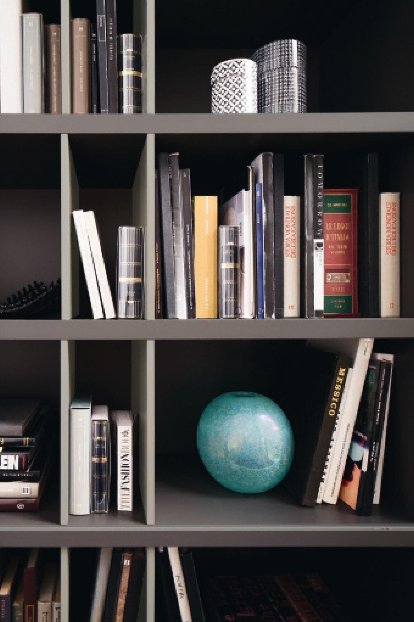 Detail Serre Livre Bibliotheque Meubles Aubin